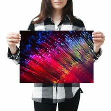Fibre Optic Cable Poster Size A4 A3 Communication Engineer Poster Gift #12638