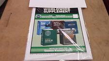 2004  World Stamp Album Supplement to fit HARRIS