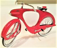Rare Vintage Bicycle Classic 1950s Bike Cycle Metal Model >>Length: 12 Inches