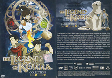 ANIME DVD THE LEGEND OF KORRA Collection Book 1-4 English Dubbed + FREE DVD