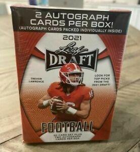 2021 Leaf Draft Football Retail Blaster Box