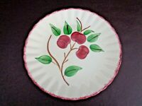 Blue Ridge Southern Potteries Cherry Bounce Luncheon Plate (Cat.#14A028)
