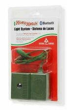 """National Tree Company 3.75"""" Green and Brown Music Match Bluetooth Light System"""