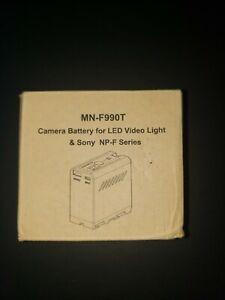 7800mAh NP-F960 NP-F970 Battery For Sony F960 970 NP-F950 NP-F770 NP-F750 CCD-TR