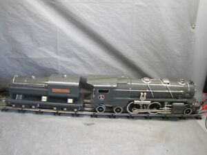 Lionel Standard Gauge 400E Locomotive w/Nickel  #6-13108 No Sound.