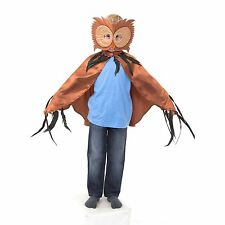 Owl Cape & Mask Bird Animal Fancy Dress Kids Costume Sizes 3-8 Years
