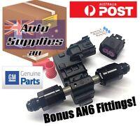 GENUINE GM Continental Flex Fuel Ethanol Content Sensor AN6 Fittings E85 +Plug
