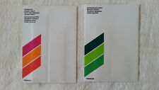 32A 84 1974 Porsche 911S Carrera Color Chart lackmuster COLOUR PAINT CHART