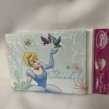 NEW Disney Cinderella Thank You Notes Pack of 8