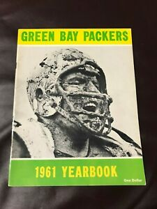 1961  Green Bay Packers Yearbook (Nicest out there!!)