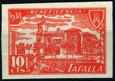 BENEFICENCIA TAFALLA 1938 10 CTS