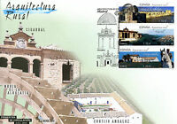 Spain 2016 FDC Rural Architecture 3v Set Cover Cigarral Horses Bridges Stamps