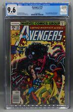CGC 9.6 Marvel Comics AVENGERS #175 Vision SCARLET WITCH Captain Marvel GOTG mcu