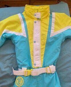 Rare Tipsy Elves Neon Polish Ambassador Snow Suit Size XS Unisex