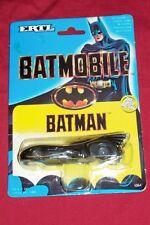 1989 Ertl Batman Batmobile Diecast Die Cast Toy Model Car 1:64 Scale Vintage Old