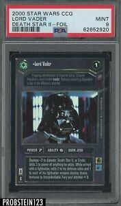 LORD VADER 2000 Star Wars CCG Reflections FOIL UR Darth Sith PSA 9 (62652920)