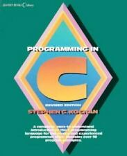 UNIX Library: Programming in C by Stephen G. Kochan (1988, Hardcover, Revised)