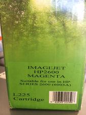 Imagejet NUOVO TONER CART. per HP 2600-Magenta l225 (6003a)