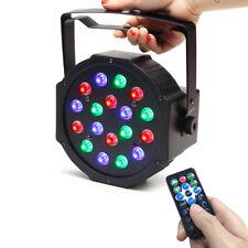 DJ/Disco Par Light 18 LED RGB DMX-512 Stage Strobe Lighting Party Xmas Club Show