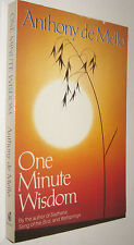 ONE MINUTE WISDOM - ANTHONY DE MELLO - EN INGLES