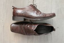 CLEARANCE SALE BLOKES LEATHER BROWN DRESS CASUAL SHOES US 8.5 / EU 41.5