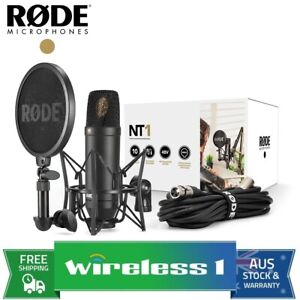 Rode NT1 Kit Professional Studio Condenser Microphone Kit (NT1KIT)
