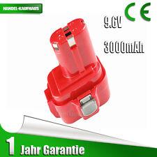 9.6V 3.0Ah Battery For Makita 9120,9122,9133,9134,9135,9135A,PA09,192697-A Ni-MH