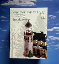 Dept 56 New England Village Dunes Edge Lighthouse! Beach, Ocean, Sea, Lights