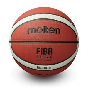Molten BG3800 FIBA Approved Composite Leather Indoor/Outdoor Basketball Size 5-7