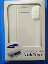 "Samsung Galaxy Tab 2 7"" Book Cover White EFC-1G5SWECSTD TATTY PACKAGING"