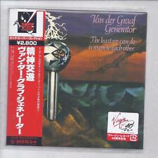 VAN DER GRAAF GENERATOR The Least We JAPAN mini lp cd SHM cd VDGG TYCP-80009 NEW
