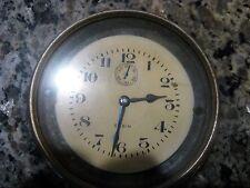 Vintage car clock Elgin, 8 day, runs and keeps time, 1922