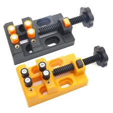 Jaw Bench Clamp Mini Drill Press Vice Micro Clip Flat Vise Diy Hand Tool Carving