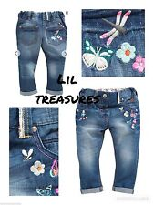 NEXT 100% Cotton Jeans (2-16 Years) for Girls