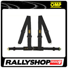 OMP Racing 4M Point Harness Road Black ECE, CHEAP DELIVERY Harness Belts