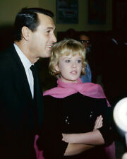 Rock Hudson and Hayley Mills candid 1960's at press event 16x20 Canvas Giclee