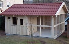 Hühnerstall 4x5 Taubenschlag Kleintierstall Geflügelstall, Holzhütte Voliere