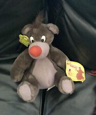 "Vintage Baloo Disney Applause Plush - Stuffed Animal 8"" The Jungle Book"