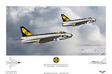 111 Squadron English Electric Lightning F.3, RAF Wattisham. Digital Art Print