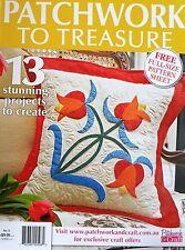 Patchwork To Treasure Magazine No 3 - 20% Bulk Magazine Discount