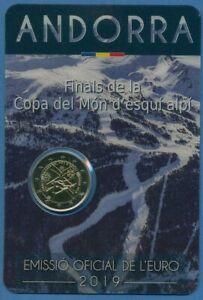 Andorra 2 Euro 2019 Ski-Weltcup, Original-Blister, st (m3029)