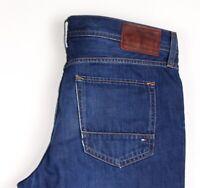 Tommy Hilfiger Herren Mercer Regular Fit Gerade Jeans Größe W35 L30 BAZ909