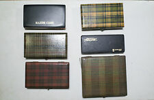 Straight Razor and Kamisori Storage Box Case Lot