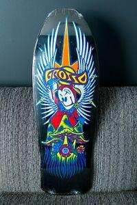 Jeff Grosso Forever Skateboard Deck - Black Label 2021 - Black Dip