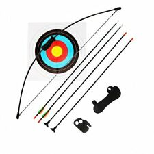 15-20 LBS KIDS RECURVE BOW ARCHERY YOUTH KIDS JUNIOR 3 ARROWS SHOOTING