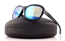 POLARIZED New SERENGETI ISOLA Sanded Black Glitter 555 NM Blue Sunglasses 8261