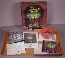 Ripley's  The Riddle of Master Lu Computer Video PC Game CD-ROM 1995
