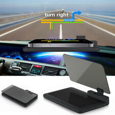 "6"" H6 Screen Car HUD Head Up Display Projector Holder for Phone Navigation GPS"