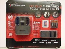 STEALTH CAM No Glo IR Scouting Camera 10.0MP HD video Bundle STC-SC36NGK NIP!