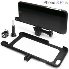 Tripod Mount for iPhone 8 Plus Accessories GoPro Go Pro Adapter Case Bumper